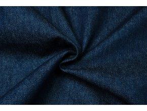 Rifľovina tmavomodrá 100 % bavlna praná