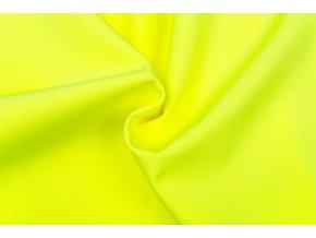 Softshell zimný žltý neón