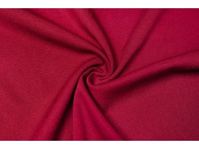 Viskózová tkanina strečová bordová 180 g/m2