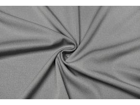 Viskózová tkanina strečová sivá180 g/m2