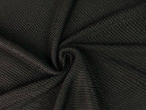 Bambusový náplet rebrovaný čierny