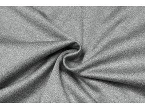 Softshell zimný bledosivý melír