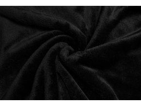 Cuddle fleece čierny