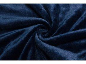 Cuddle fleece námornícka modrá