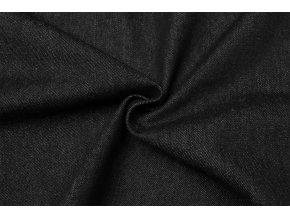 Rifľovina čierna 100 % bavlna