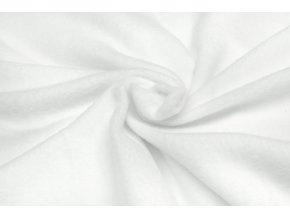 Polar fleece biely