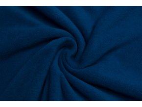 Polar fleece stredná modrá