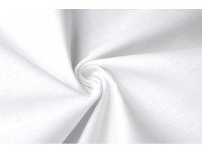 Bavlněné plátno biele