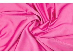 Umelý hodváb néonovo ružový