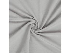 Teplákovina elastická svetlosivá 240 g