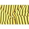 Úplet pruhy žlto-čierno-biele