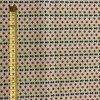 Bavlnené plátno farebné kytičky v radoch