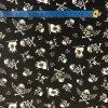 Bavlnené plátno piráti na čiernej