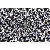 Bavlnený satén černice a čučoriedky - Vzor od Mamtex