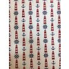 Bavlna režná kotvy, kormidlá a majáky