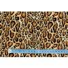 Bavlnený úplet zvierací vzor jaguár