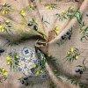 Bavlna režná olivy na béžovom melíri