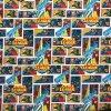 Bavlnené plátno Superman komiks digi tlač