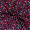 Softshell zimný abstraktná farebná lúka