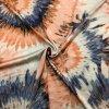 Umelý hodváb / Silky oranžovo-modré kvety