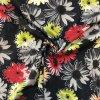 Rifľovina košeľová farebné rozpité kvety