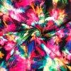Bavlnený úplet explózia farieb digi tlač