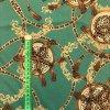 Umelý hodváb / Silky Armani ornamenty s leopardím vzorom