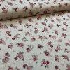 bavlna režná drobné růžičky