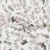 Bavlnený satén Garden drobnejší vzor digitálna tlač