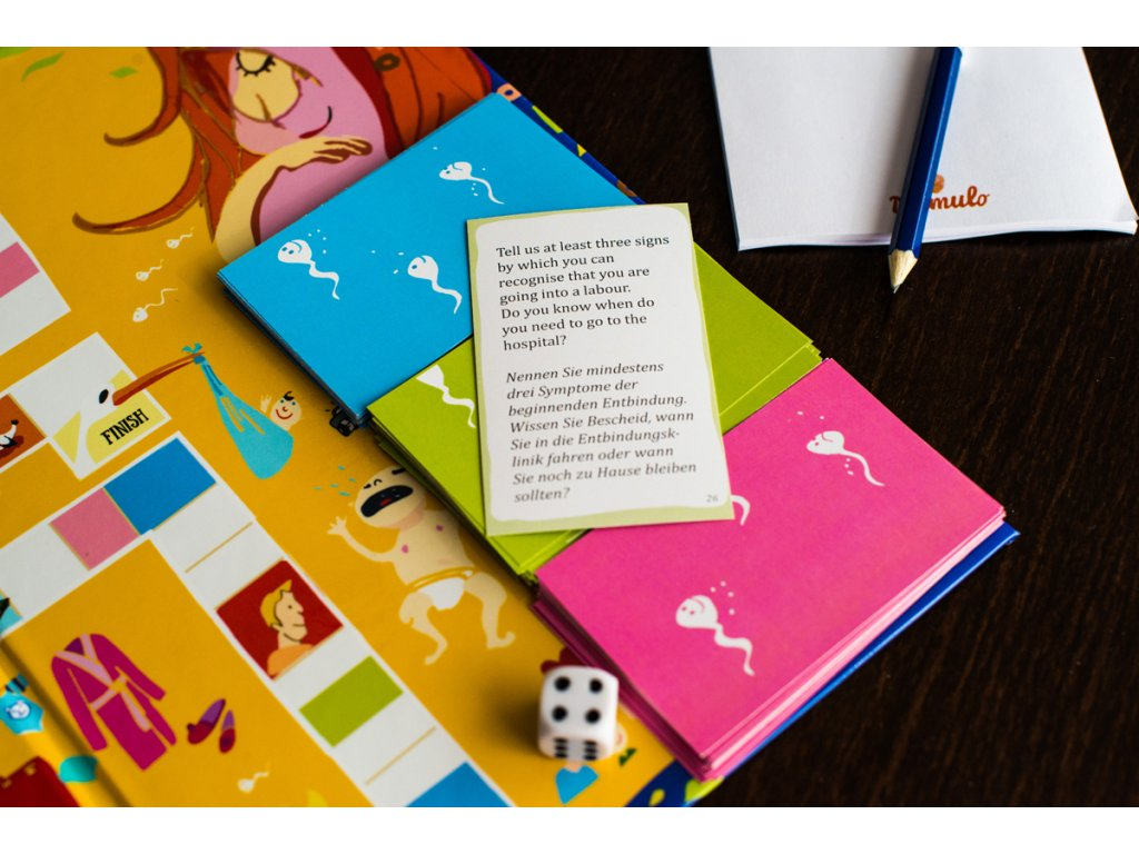 An Entertaining Board Game About Pregnancy We Are Expecting Mamulo