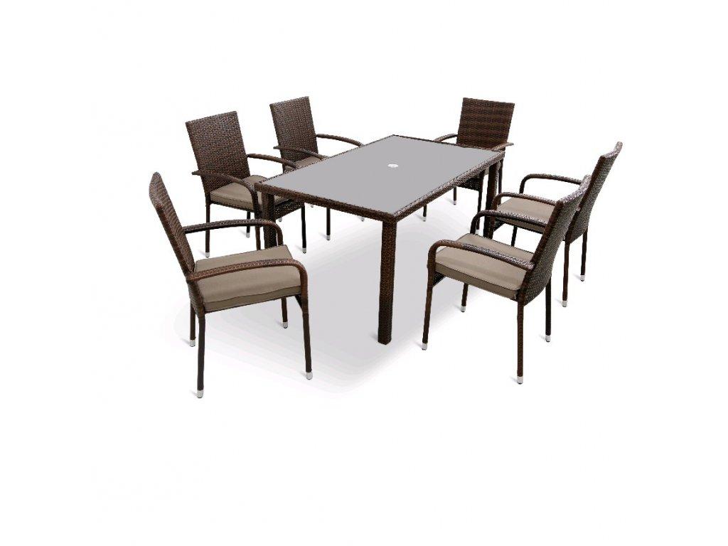 11248 stolova sestava karolina set 6