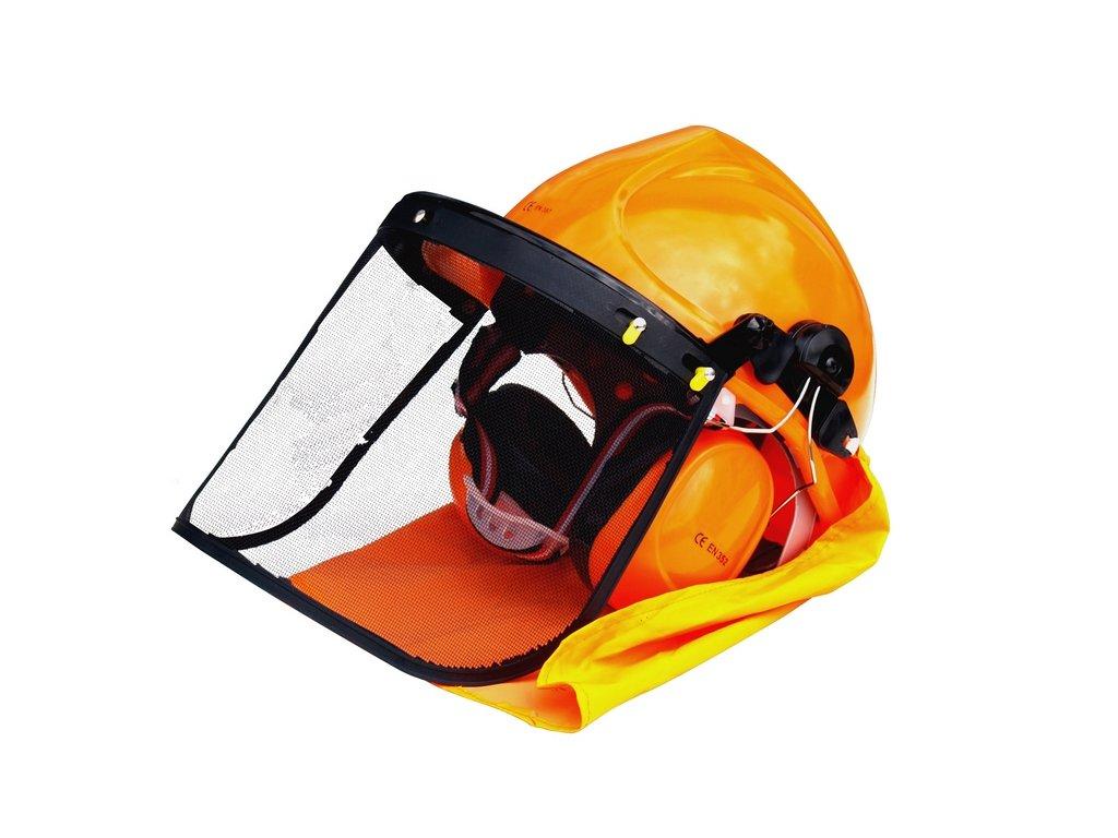 15401 hecht 900100 ochranna helma se sluchatky a stitem ce