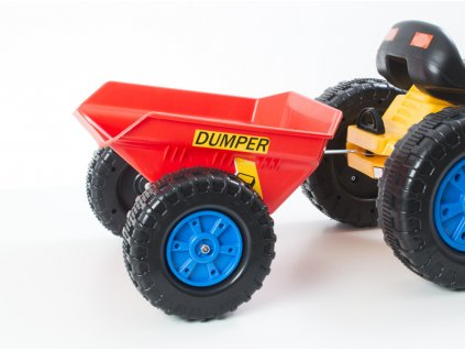 41507 1 prislusenstvi g21 vlecka k slapacimu traktoru cervena
