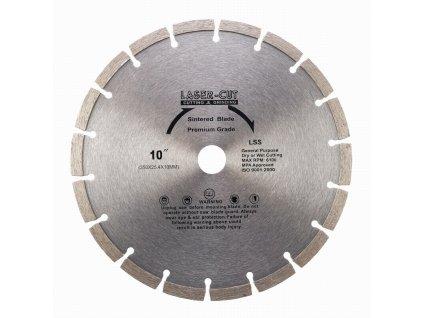 77189 l001250 diamantovy kotouc segmentovy 250 x 25 4 x 10mm lss