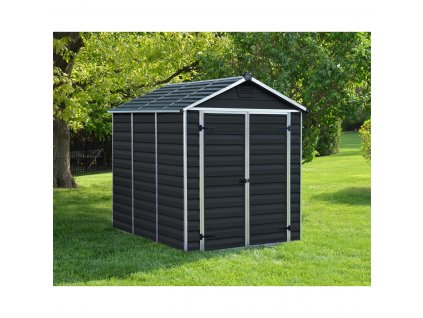 79220 palram skylight 6x8 antracit zahradni domek