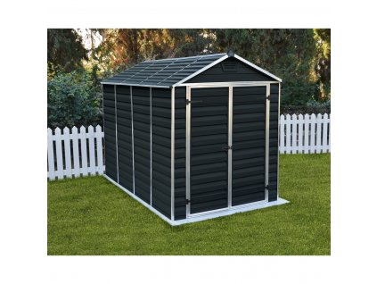 79223 palram skylight 6x10 antracit zahradni domek