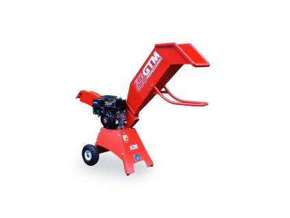 91865 gtm gts 600 drtic dreva s benzinovym motorem