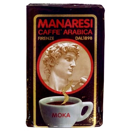 Manaresi Italian Espresso Moka 250g vacuum packed ground coffee