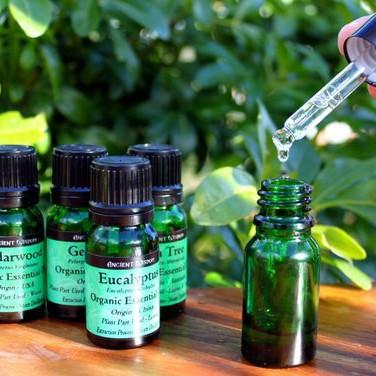BIO esenciální oleje