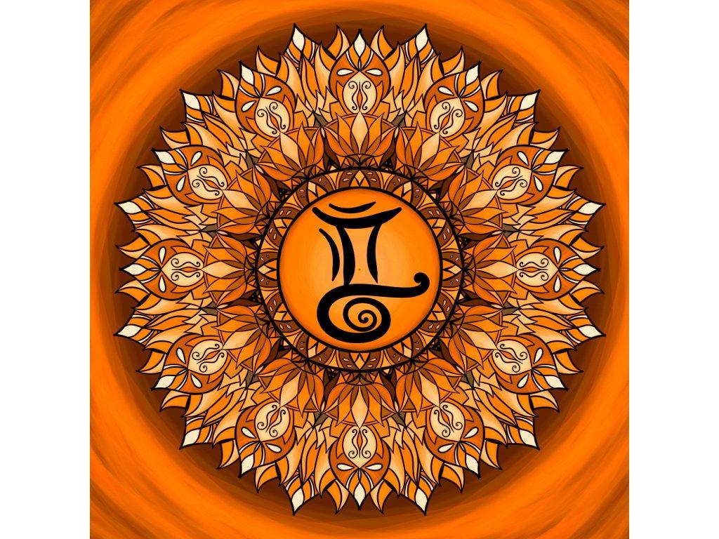 zodiacmandala blíženec