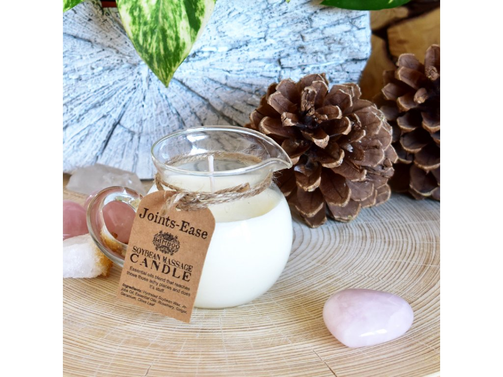 Masážní sójová svíčka ZPEVNĚNÍ POKOŽKY