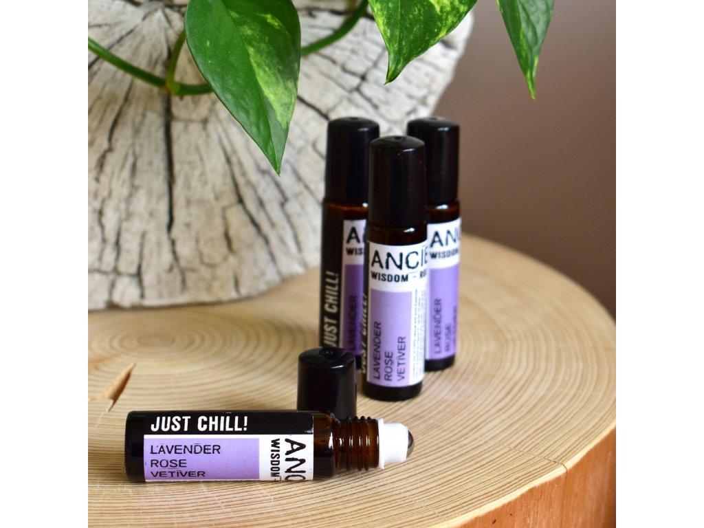 Aromaterapeutický parfém KVĚTINOVÉ UKLIDNĚNÍ 10ml