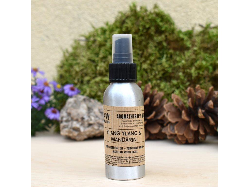 Aromaterapeutický bytový parfém YLANG YLANG A MANDARINKA