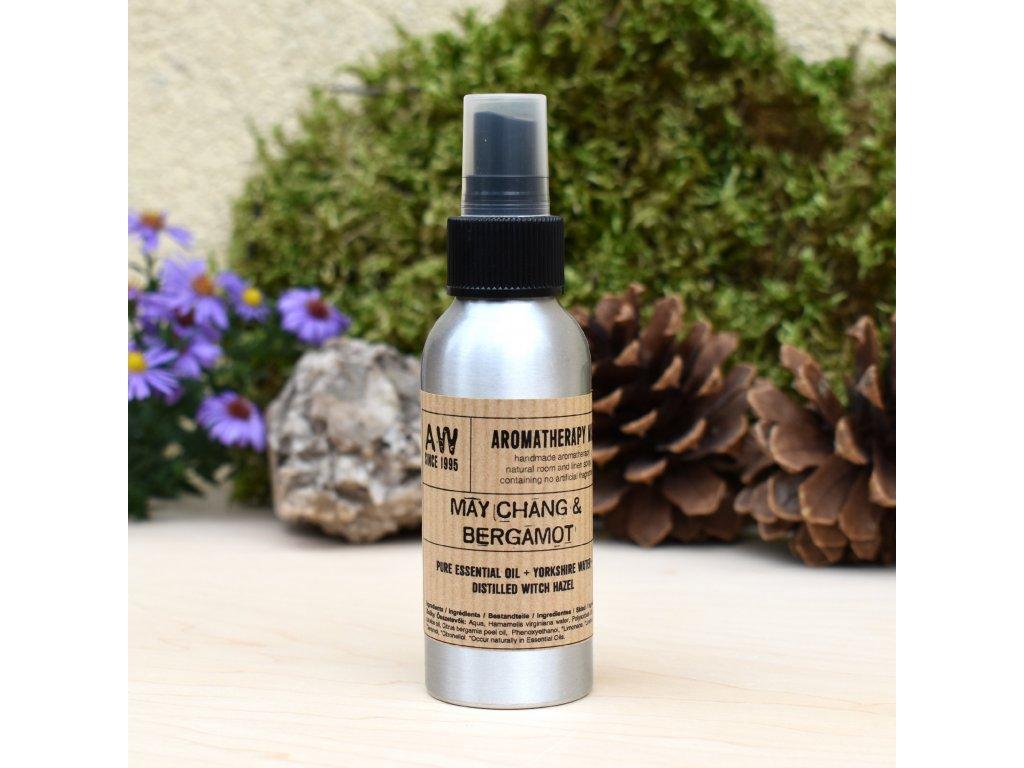 Aromaterapeutický bytový parfém MAY CHANG A BERGAMOT