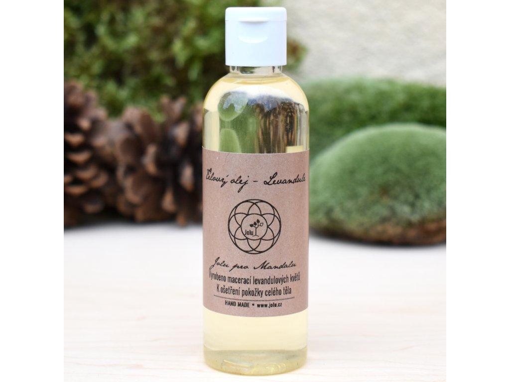 Přírodní tělový olej LEVANDULE