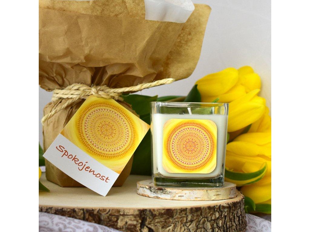 Aromaterapeutická svíčka SPOKOJENOST