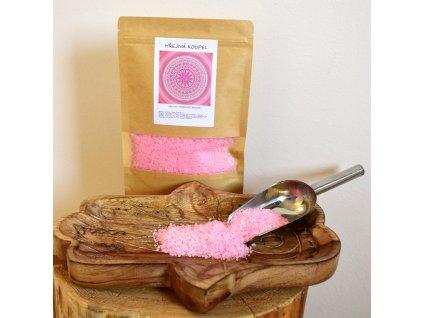 Aromaterapeutická mořská sůl HŘEJIVÁ KOUPEL