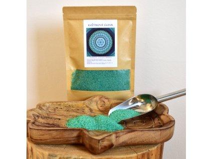 Aromaterapeutická mořská sůl KVĚTINOVÁ ÚLEVA