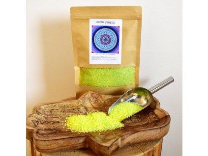 Aromaterapeutická mořská sůl PROTI STRESU