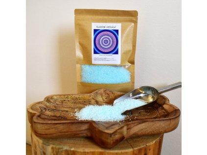 Aromaterapeutická mořská sůl SLADKÉ USÍNÁNÍ